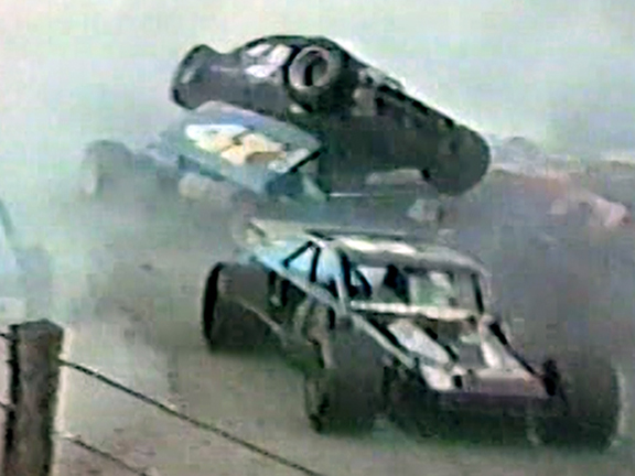Speedbowl's Wild Wrecks from the 1980's – Volume 1