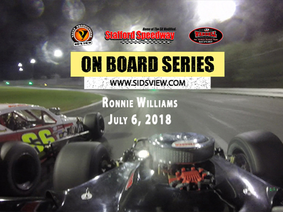 On Board Series – Ronnie Williams 7.6.18