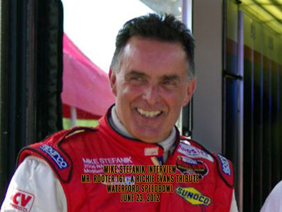Mike Stefanik Interview – Waterford Speedbowl June 23, 2012